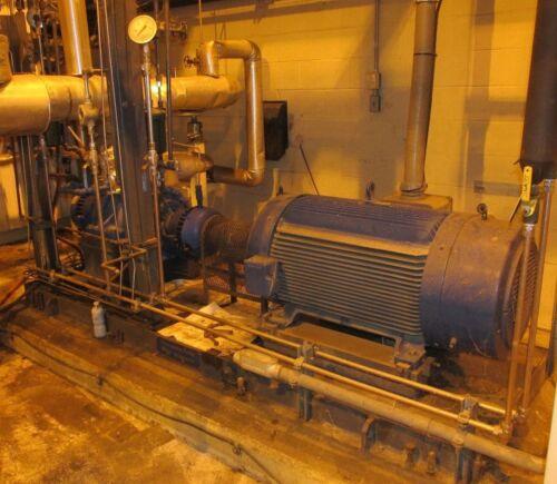 Boiler Feed Pump 250 HP 300 GPM 1475731 Byron Jackson Pumps  Skid 2723TH