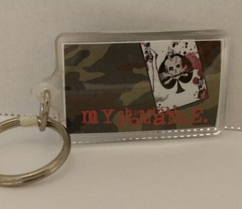 My Chemical Romance Keychain Keyring 2005 Plastic MCR