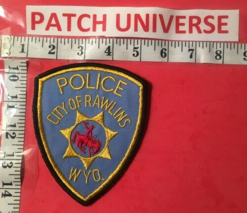 CITY OF RAWLINS  WYOMING  SHERIFF  SHOULDER PATCH  L005