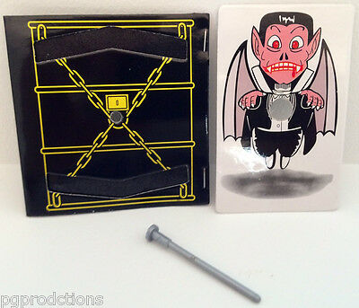 VAMPIRE ESCAPE Penetration Card Magic Trick Pocket Coffin Nail Halloween - Escape Halloween Trick