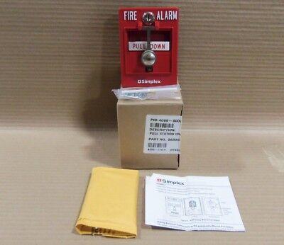 New Simplex 4099-9002 Addressable Pull Station Fire Alarm