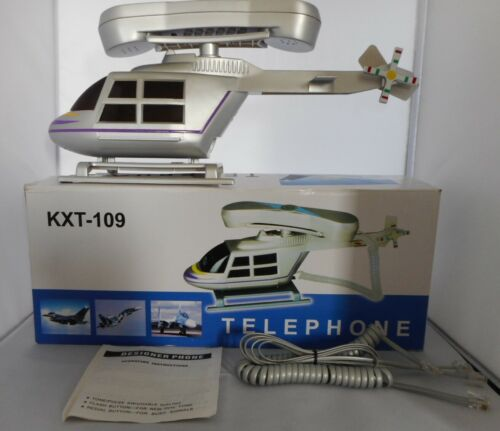 Vintage Helicopter Shaped Telephone