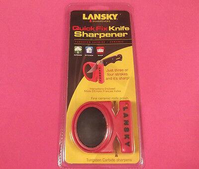LANSKY LCSTC Quick Fix 2 Stage Carbide & Ceramic Knife Sharpener [LS09880] NEW! -