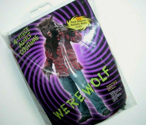 NWT NEW Halloween Costume Adult Werewolf Men