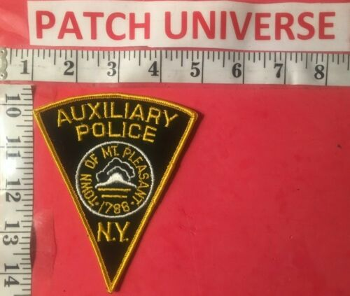 OLD MT PLEASANT NY AUXILIARY  POLICE  SHOULDER PATCH  H014