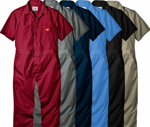 Dickies Mens Short Sleeve Boilersuit Coverall 33999 - Various Colour/Size