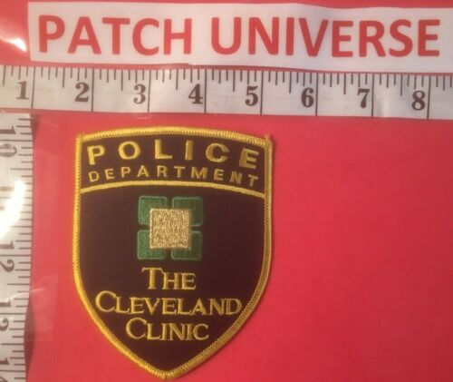 THE CLEVELAND CLINIC POLICE SHOULDER PATCH I056