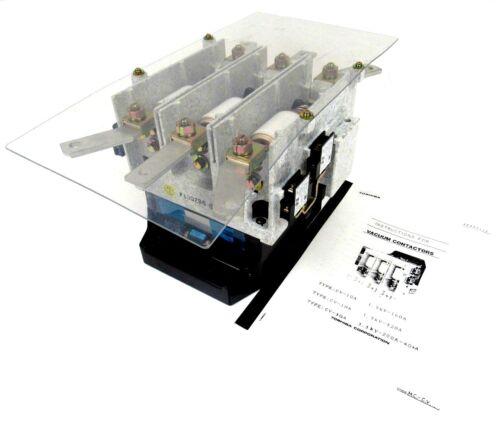 NEW TOSHIBA CV-3GA VACUUM CONTACTOR CV3GA 9820014 AC3.3KV-200A-4KA