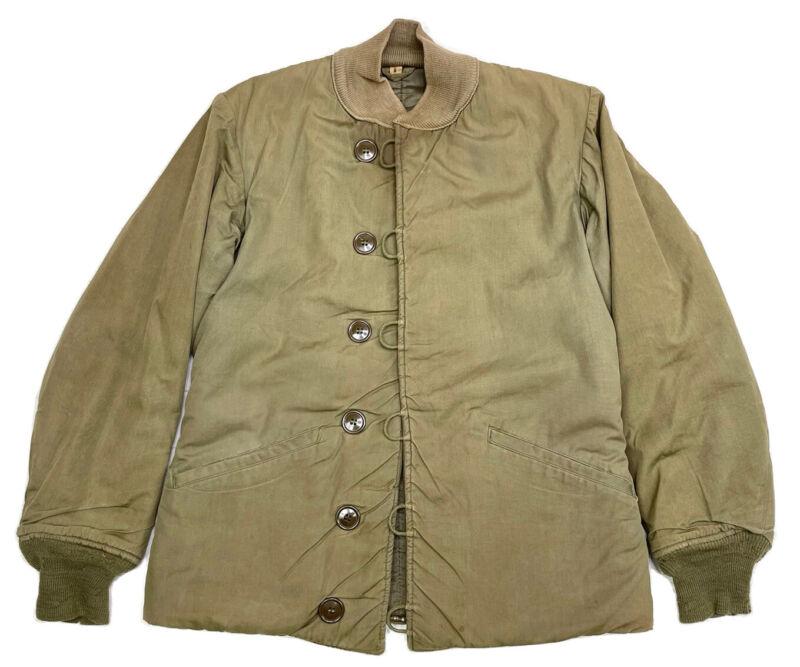 Vintage US WWII M1943 Field Jacket Pile Liner us Military