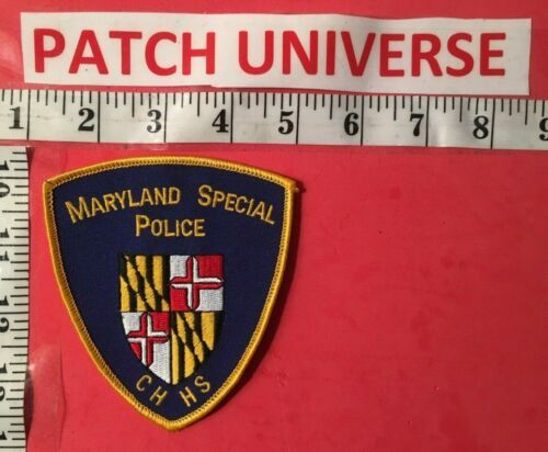 MARYLAND  SPECIAL  POLICE CHHS  SHOULDER PATCH  0102