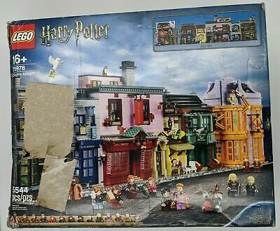 LEGO Harry Potter Diagon Alley (75978) New Open Box