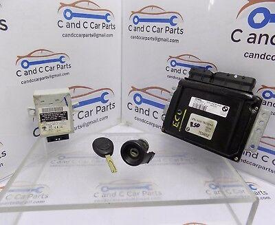 Mini Cooper One R50 Lock Set 115 BHP ECU EWS 1x Key Ignition Barrel ECU 7527610