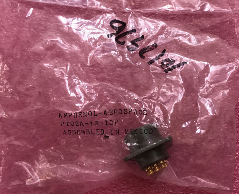 Amphenol PT02A-12-10P
