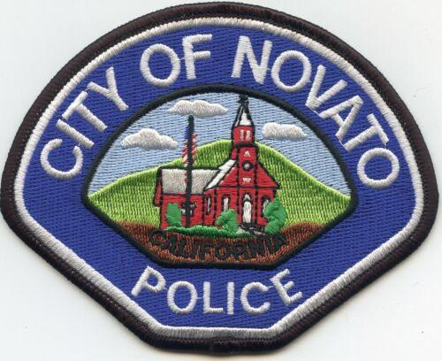 NOVATO CALIFORNIA CA POLICE PATCH