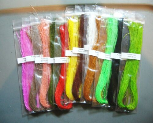 Rubber Legs>12 Colors available>COMBINE SHIPPING
