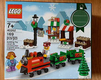NEW LEGO SEASONAL 40262 CHRISTMAS TRAIN RIDE - 169pcs FACTORY SEALED BOX