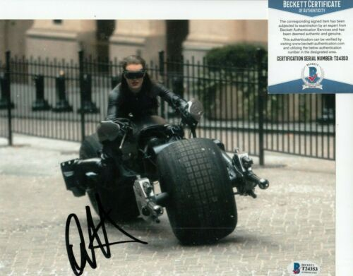 ANNE HATHAWAY signed (BATMAN THE DARK KNIGHT) *Selina* 8X10 photo BAS BECKETT #1