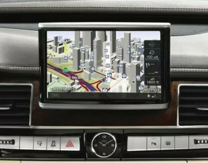 Audi MMI 3GP/3GPlus/HN+ Navigation Maps Update for USA, Canada, Mexico, 2019/20