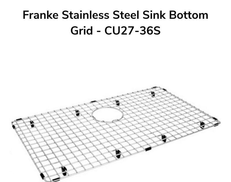 Franke Stainless Steel Sink Bottom Grid CU27-36S