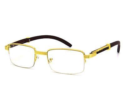 Gafas Lentes Espejuelos y Oculos de Sol De Moda Regalos Para Hombre Clear (Gafas Para Hombre)