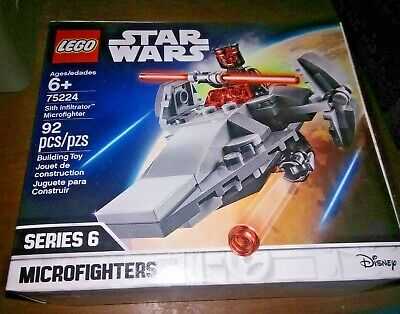 Star Wars Sith Infiltrator Microfighter Darth Maul Figure New Lego Set 75224