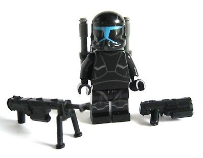 CAC Lego Custom Mandalorian SUPER COMMANDO SHADOW Minifig Full Body Printing