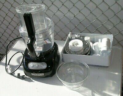 KitchenAid 12 Cup Food Processor KFPW761OB Black