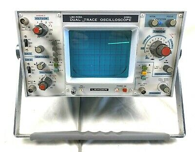 Lbo-508a Leader Dual Trace Oscilloscope Pre-owned