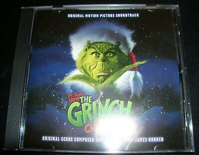Dr. Seuss' How The Grinch Stole Christmas Soundtrack CD – Like New   ()