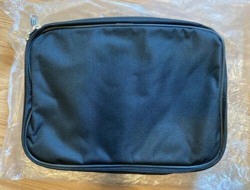 Carrying Bag Case Zipper Cloth Lightduty for LED Light Panel12x10x3in Black