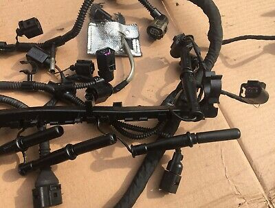 VOLKSWAGEN VW GOLF MK6 08-13 1.6 TDI ENGINE WIRING LOOM HARNESS 03L972619AB