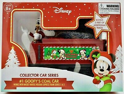 Disney Mickey Mouse Holiday Express Train #1 Goofy's Coal Car Collector Series