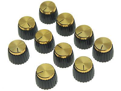 Pkg 8 Original Marshall™ Gold Push-On Knobs
