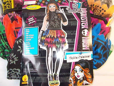 Monster High Skelita Calaveras Child Costume Mask S M L NIP