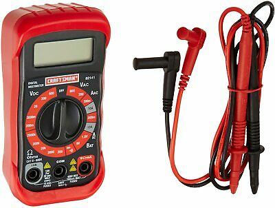 Craftsman 8 Function Digital Multimeter Voltage Meter Electrical Tester 34-82141