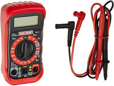 Craftsman 8 Function Digital Multimeter Voltage Meter Electrical Tester 34-82141