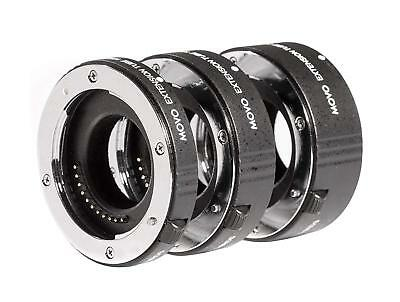Movo AF Macro Extension Tube Set for Micro 4/3 Mount Mirrorless Camera System Af Extension Tube Set
