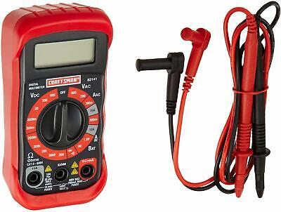 Craftsman 8 Function Digital Multimeter Voltage Tester Ohmmeter Acdc 82141