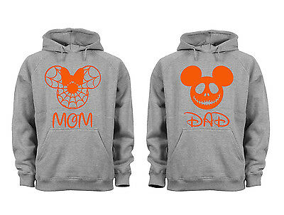 2 FOR 1 SALE: Halloween Costume Couples Matching soft Gray Unisex Hoodie S-6X (Disney Costumes For Sale)