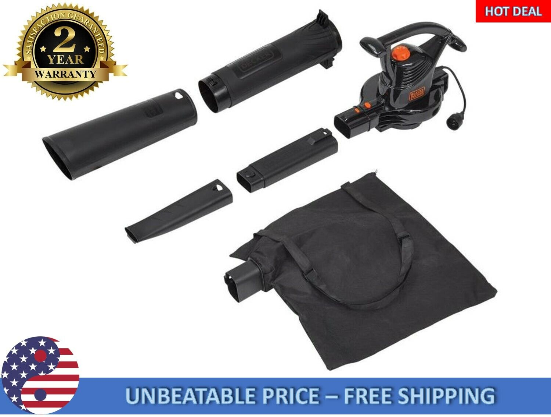 BLACK+DECKER 12 Amp 210 MPH Electric Yard Blower/Vac/Mulcher