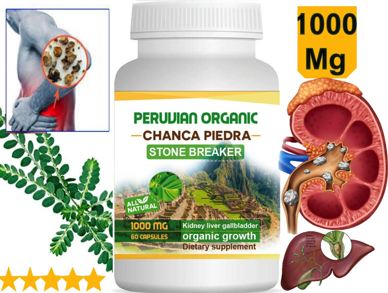 Chanca Piedra Phyllanthus gallblader Kidney Stone Breaker liver Gallstones Pill 1