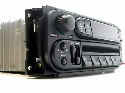 OEM RBK Factory 2002+ DODGE CARAVAN CHRYSLER RAM 1500 CD PLAYER STEREO RADIO