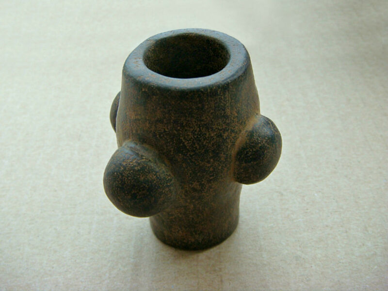Ancient Stone Mace Head  1000 - 800 BC
