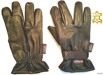 Propanther Allwetter Chopper Handschuhe  aus Anilinleder,Wasserdicht