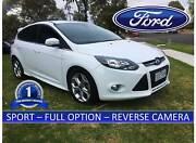Ford Focus SPORT ***  60,000KM , SAT/NAV –RWC – REVERSE CAMERA ** Bayswater Knox Area Preview