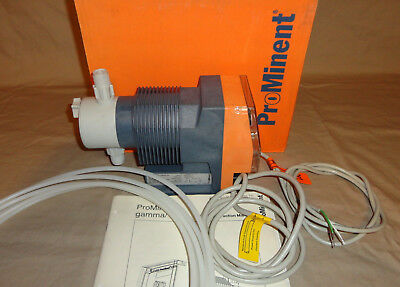 Prominent G0803ppw Metering Pump .81 Gpm 116psi 24v Acdc Hz New