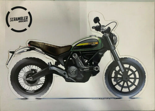"Ducati Scrambler Builder Puzzle Dealer Promo 26 1/2"" x 18 1/2"" with bag"