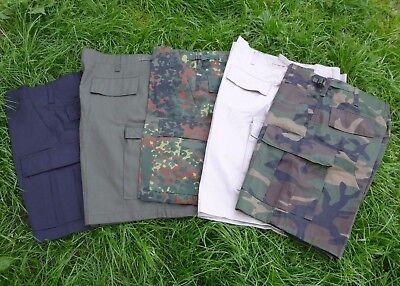 US BDU Shorts kurze Hose Bermuda Cargo Shorts Tarnhose Rangerhose Neu 01
