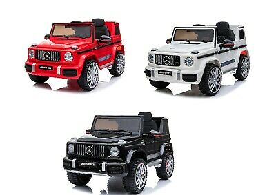 NEW 12V KIDS ELECTRIC OFFICIAL MERCEDES AMG G63 RIDE ON CAR SUV PARENTAL REMOTE