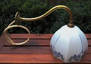 Vintage Art Deco Brass Wall Light Golden Grove Tea Tree Gully Area Preview